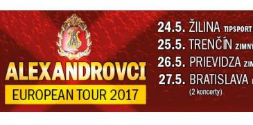 Alexandrovci v Žiline @ Žilina | Slovensko