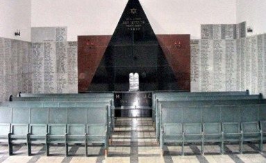 Memorial of the victims of Holocaust