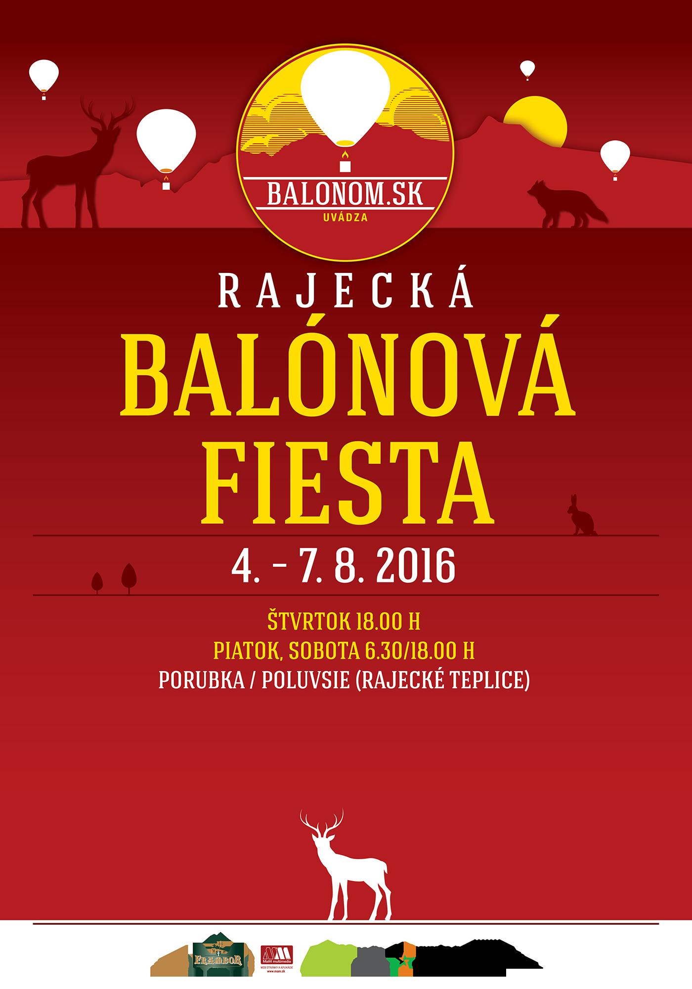 Rajecká Balónová Fiesta 2016 @ Rajecké Teplice | Rajecké Teplice | Žilinský kraj | Slovensko