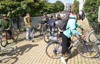 Cyklisti v Žiline