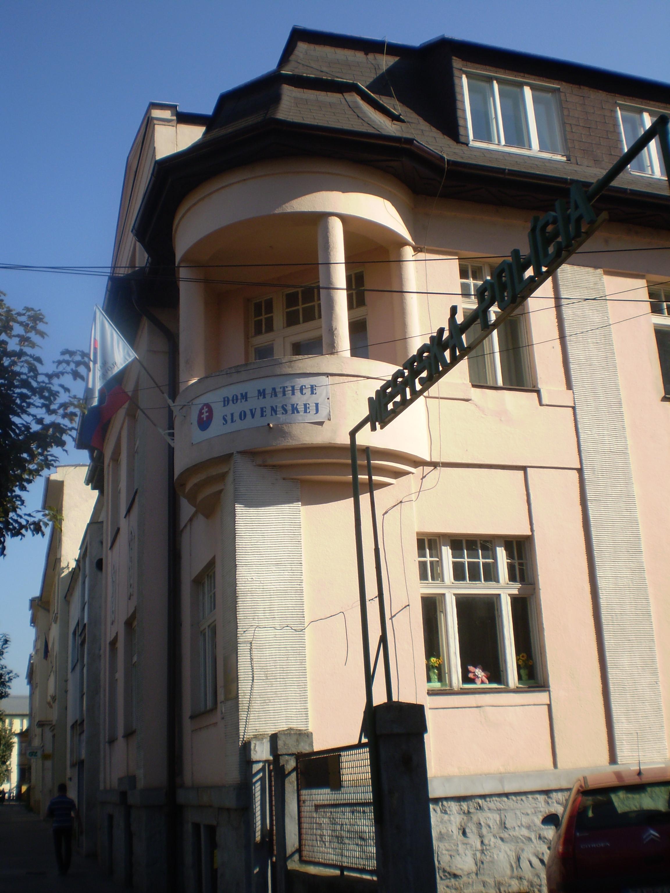 8e26fb089 Budova Matice slovenskej - tikzilina.eu