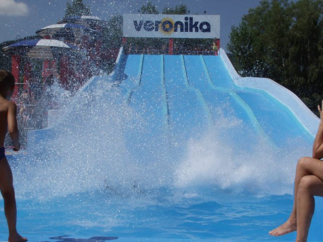 Thermal outdoor swimming pool Veronika